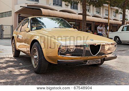 Vintage Car Alfa Romeo Junior Zagato