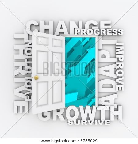 Change - Open Door To Success