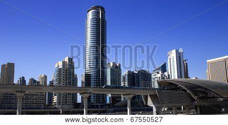 Dubai Marina Metro