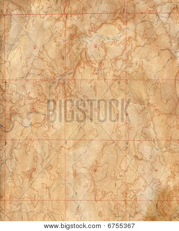Expedition background (Topographical Map)