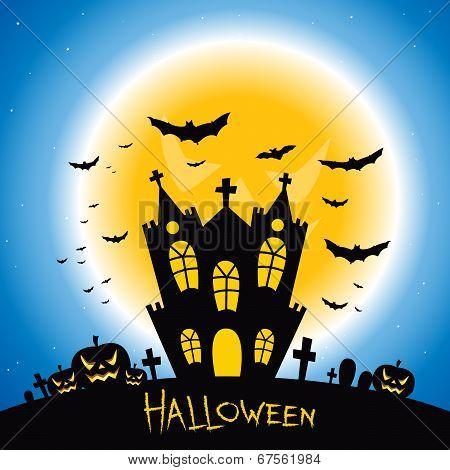 Halloween Creepy House
