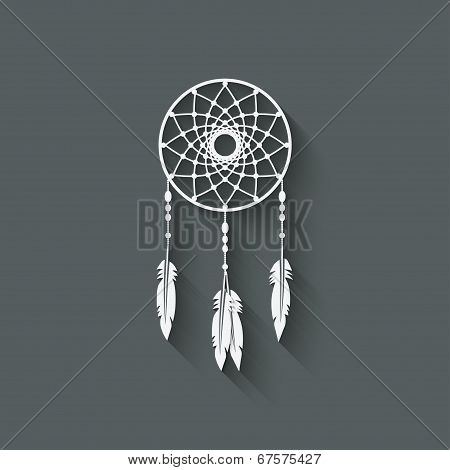 Dreamcatcher design element