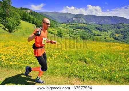 Trail Running Athlete