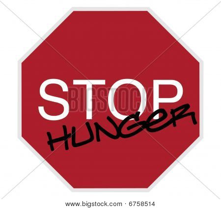 Stop Sign - Stop Hunger
