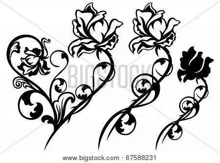 Rose Flower Decor