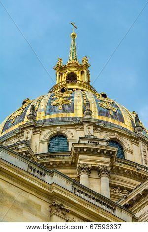 Les Invalides, architectural detail