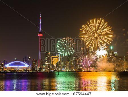Canada Day Fireworks