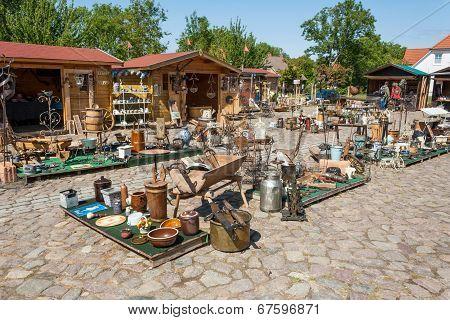 Flea Market, Ruegenhof At Kap Arkona