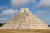 foto of yucatan  - Mexico Chichen Itza ruins is the most famous and best restored of the Yucatan Maya sites - JPG