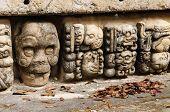 foto of mayan  - Honduras Mayan city ruins in Copan - JPG