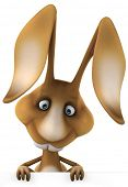 stock photo of dessin  - Rabbit - JPG