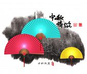 pic of mid autumn  - Vector Mid Autumn Festival Design Element - JPG