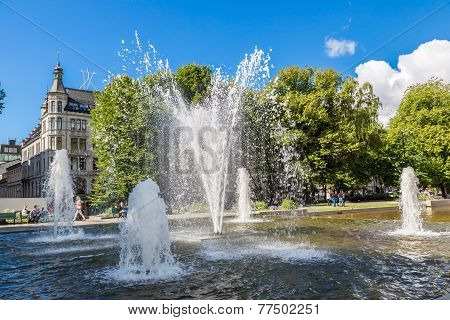 Fountain In Oslo