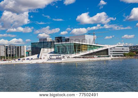 The Oslo Opera House