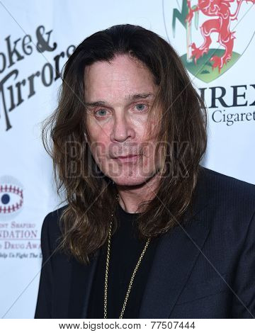 LOS ANGELES - SEP 13:  Ozzy Osbourne arrives to Brent Shapiro Foundation Summer Spectacular 2014  on September 13, 2014 in Los Angeles, CA