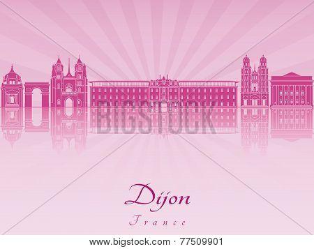 Dijon Skyline In Purple Radiant Orchid