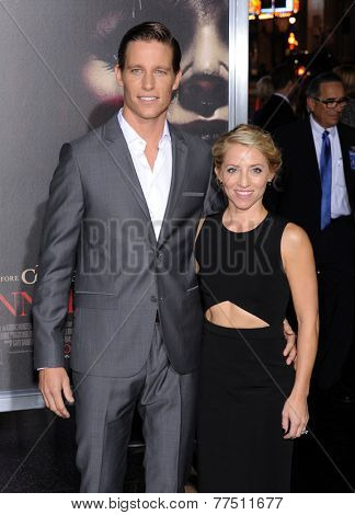 LOS ANGELES - SEP 29:  Ward Horton & Alexa Horton arrives to the