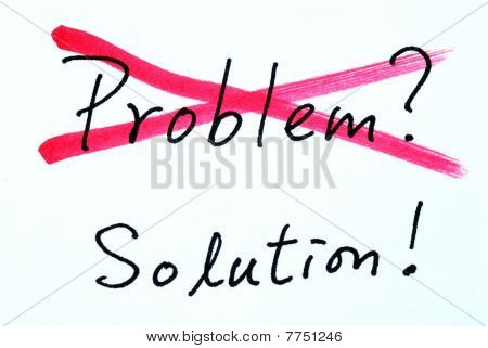 Concept of crossing out problem and finding the solution
