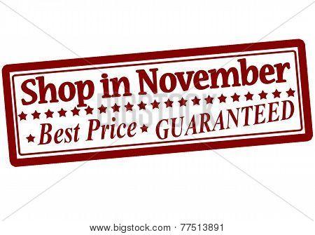 Shop In November