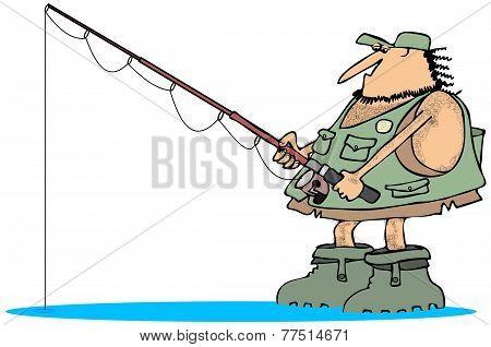 Neanderthal fisherman