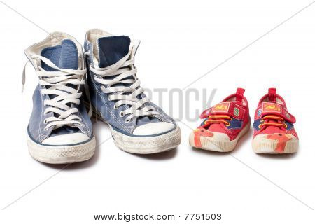Child Shoe And Sneakers