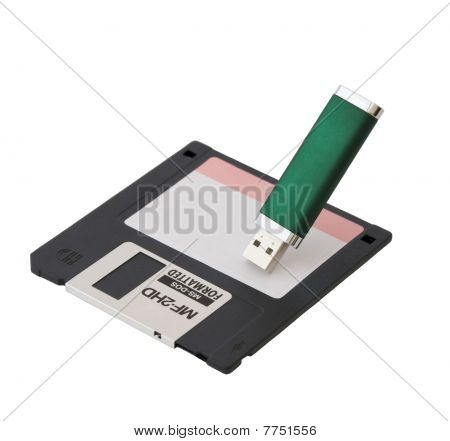 Diskette And Usb The Store
