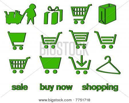 Handcart - shopping cart