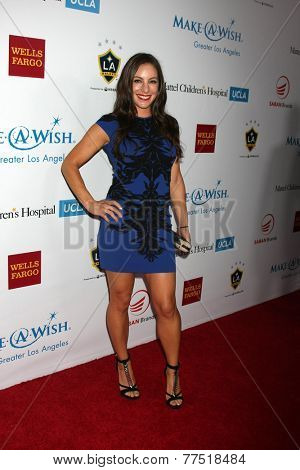 LOS ANGELES - DEC 3:  Hannah Bartell at the Make-A-Wish Foundation at the Beverly Wilshire Hotel on December 3, 2014 in Beverly Hills, CA