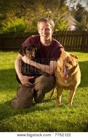 Dog Owner Portrait