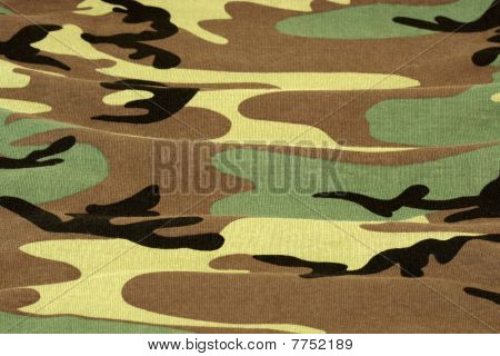 Woodland Camouflage Background