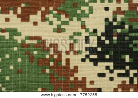 Digital Woodland Camo