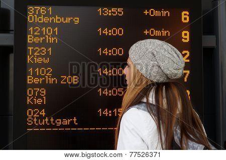 destination board