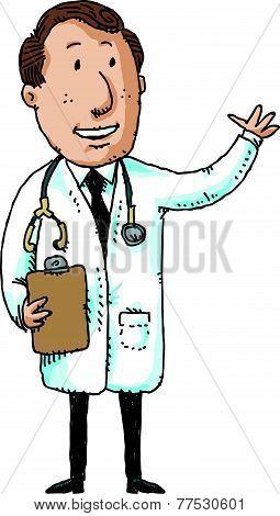Waving Doctor