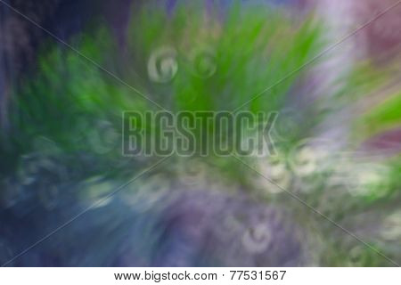 Abstract Circular Bokeh
