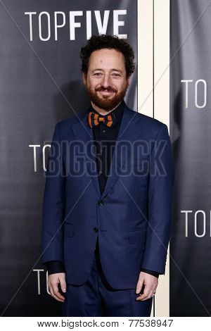 NEW YORK-DEC 3: Cinematographer Manuel Alberto Claro attends the