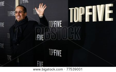 NEW YORK-DEC 3: Comedian Jerry Seinfeld attends the