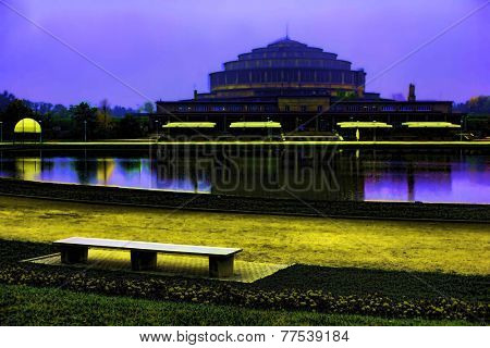 Centennial Hall, Wroclaw, Poland -Centennial Hall, Wroclaw, Poland architect Max Berg