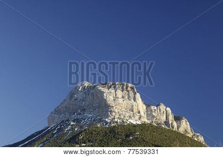Peak in Ferrera Mountains, Pyrenees, Huesca, Aragon, Spain