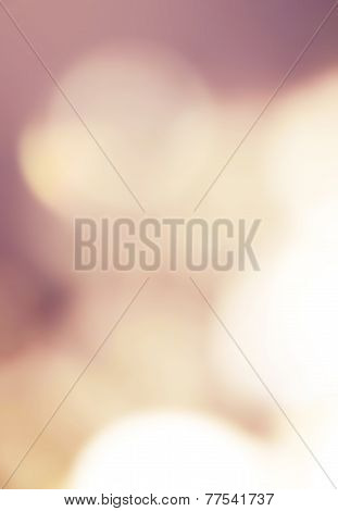 ..dark Abstract Blur Boke Background With Natural Defocused Lights. Holiday Party Background With Bl