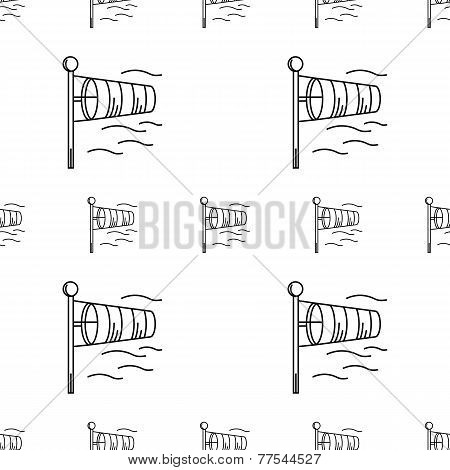Vector background for windsock
