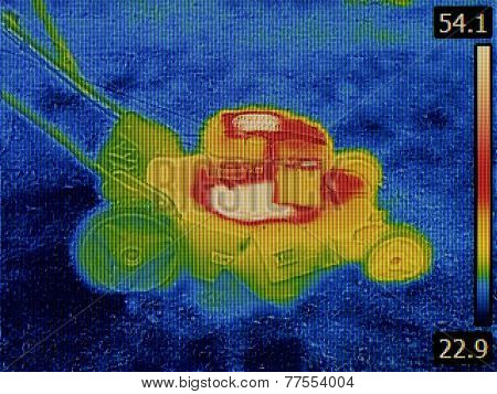 Thermal Image Failure Detection of Lawn Mower