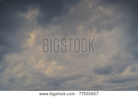 Background Of Dark Clouds