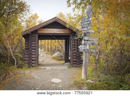 ABISKO, SWEDEN ON SEPTEMBER 10