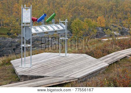 ABISKO, SWEDEN ON SEPTEMBER 09