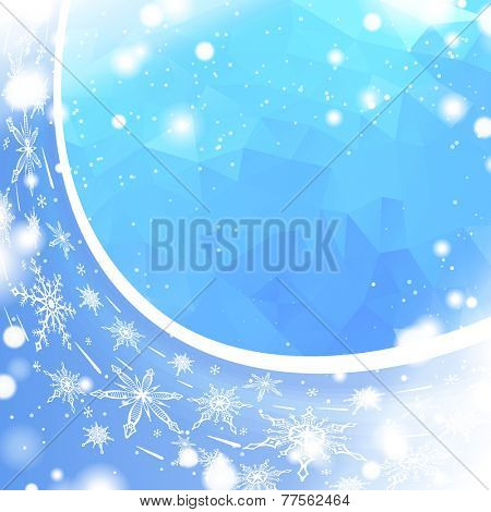 abstract blizzard background