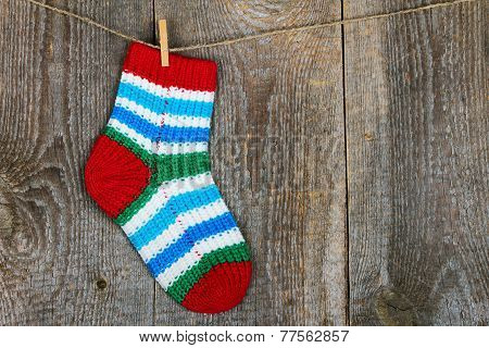 Colorful sock