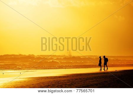 Playa del Ingles in Gran Canaria, Spain
