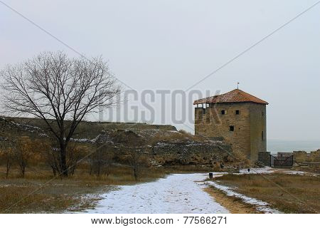 Akkerman fortress in Ukraine