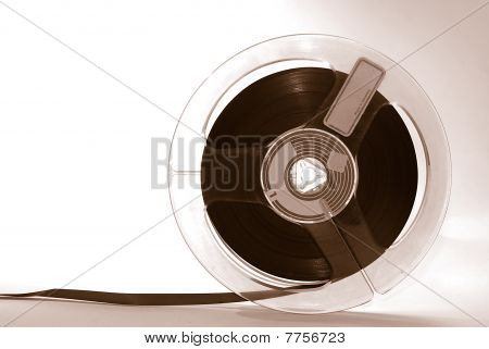 Old magnetic Audiotape
