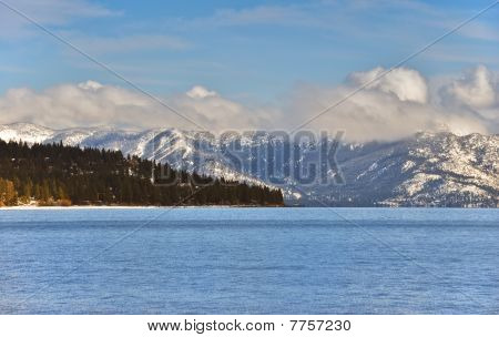 Tahoe Winter Afternoon